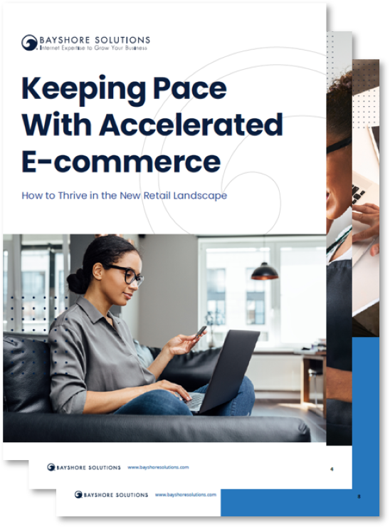 Mockup for Keeping Pace with Accelerated E-commerce